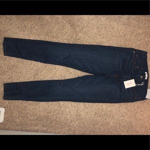 Good American NWT dark wash skinny jeans sz 10